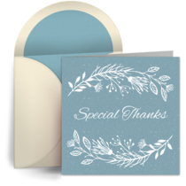 Special Thanks card image