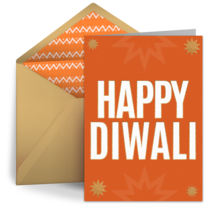 Diwali Celebration card image