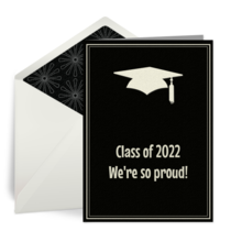 Simple Cap and Tassel card image
