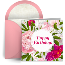 Bold Floral card image