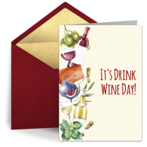 Drink Wine Day | February 18 card image