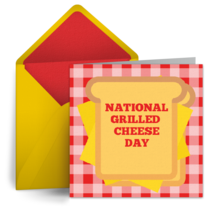 Grilled Cheese Day | April 12 card image