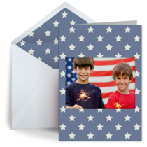 July 4th Photo Banner card image