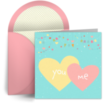 Pair of Hearts card image