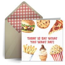 Eat What You Want Day | May 11 card image
