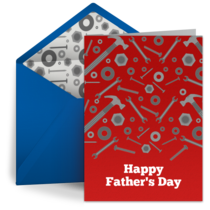 Father's Day Tribute card image