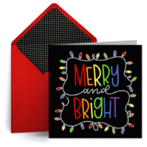 Christmas Lights card image