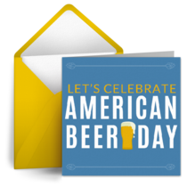 American Beer Day | Oct 27 card image