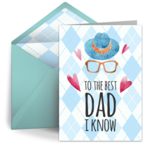 To The Best Dad I Know card image
