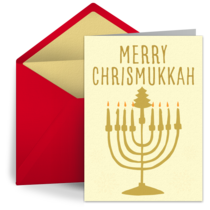 Merry Chrismukkah card image