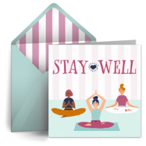 Stay Well Yoga card image