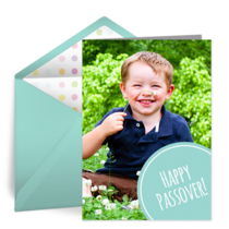 Passover Photo Dots card image
