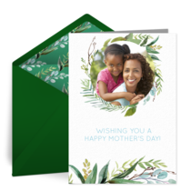 Mother's Greenery card image