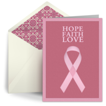 Hope. Faith. Love. card image