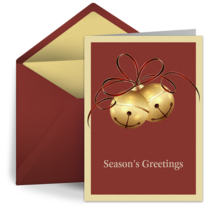 Holiday Bells card image