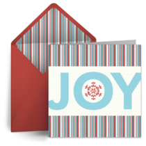 Holiday Joy card image