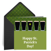 Happy St. Patrick's Day card image