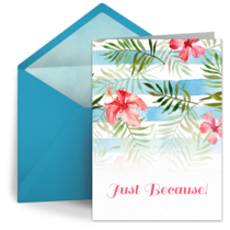 Blue Flower Pattern card image
