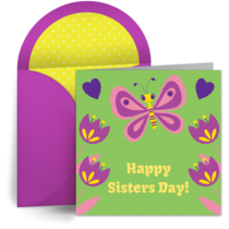 Happy Sister Day card image
