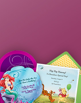 Free Girl Birthday Party Online Invitations | Punchbowl