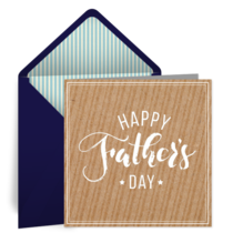 Happy Father's Day card image
