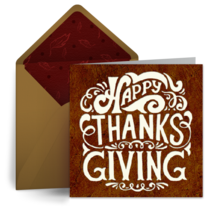 thanksgiving wishes - Free Thanksgiving Cards