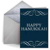 Multi Textured Hanukkah card image