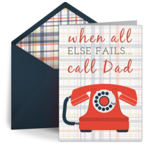 Call Dad card image