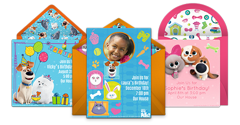 Free Boy Birthday Party Online Invitations