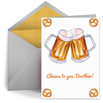 Cheers, Brother! card image