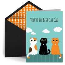 Cat Dad card image