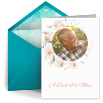 Dad In Memoriam card image