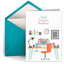 Teacher Dad card image