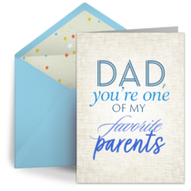Favorite Parent card image