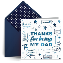 Being My Dad card image