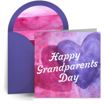 Happy Grandparents Day card image