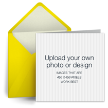 Upload Square - Yellow card image