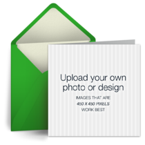 Upload Square - Green card image