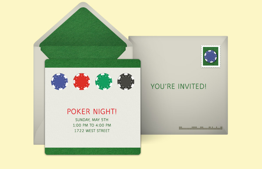 Plan a Poker Night Party!