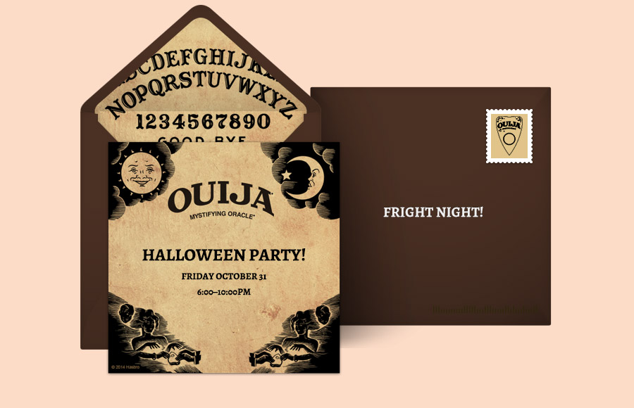 Plan a Ouija Party!
