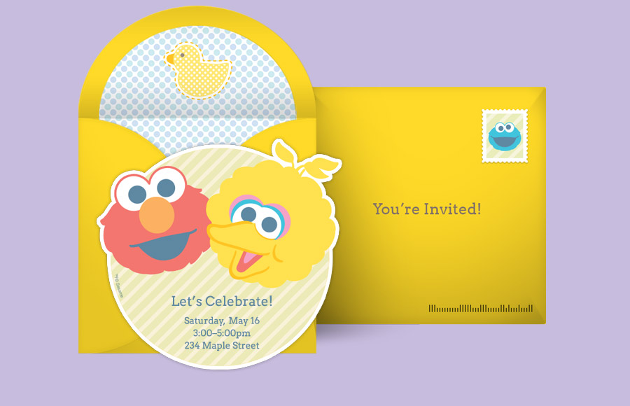 Plan a Baby Elmo and Big Bird Party!