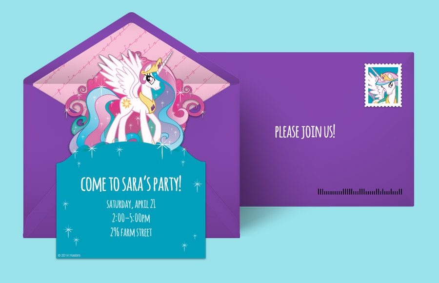 Plan a Princess Celestia Party!