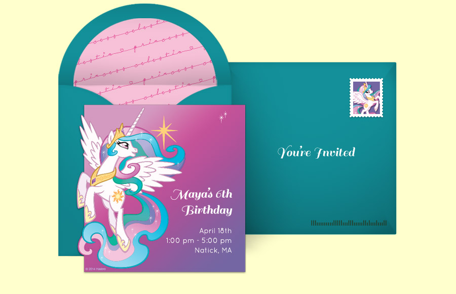 Plan a Princess Celestia Prance Party!