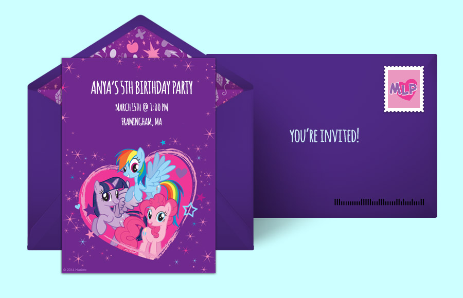 Plan a My Little Pony Heart Party!