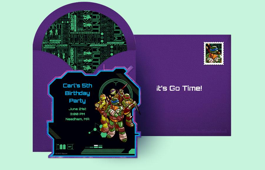 Plan A TMNT Tech Party
