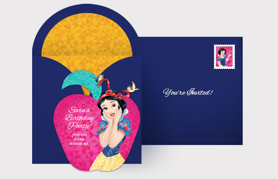 Plan a Snow White Party!