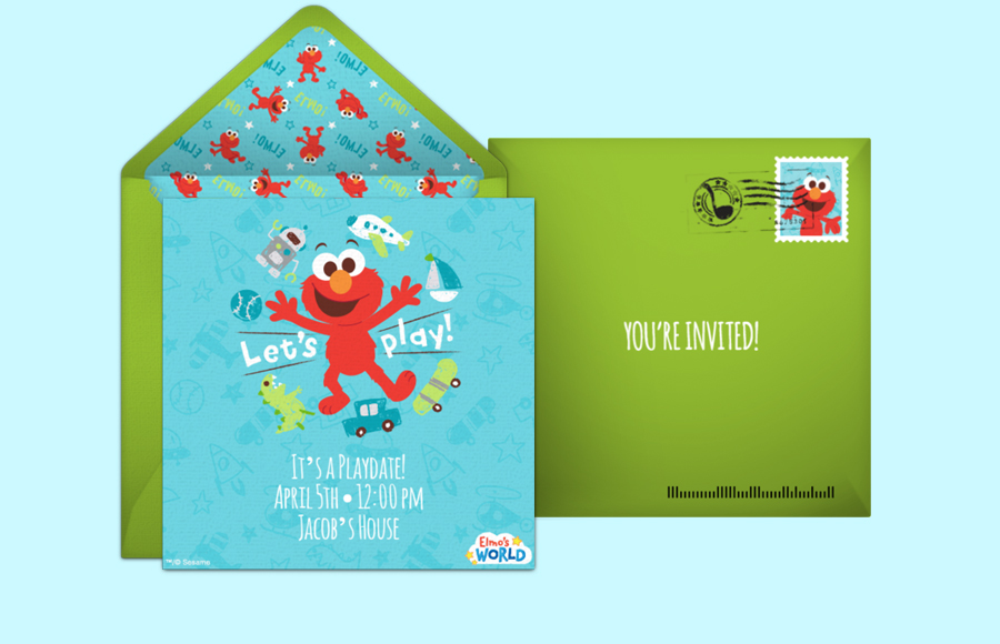 Plan a Elmo's World Party!