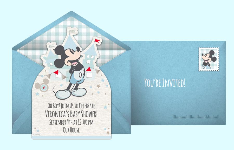 Plan a Mickey Mouse Baby Shower Party!